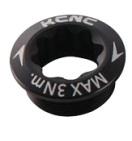 KCNC(ケーシーエヌシー)ブラック クランクボルト シマノ レフトアーム用