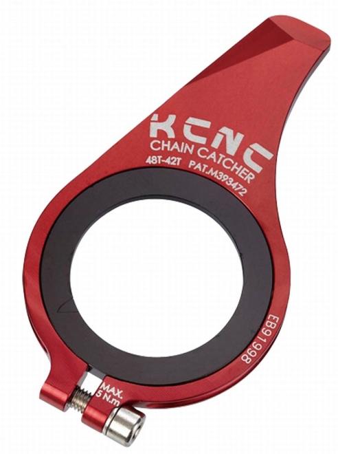 KCNC(ケーシーエヌシー)レッド 24-20T チェーンキャッチャー MTB