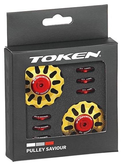 TOKEN(トーケン)TK1732 ALLOY PULLEY ゴールド CAMPY 11S