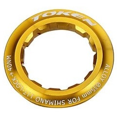 TOKEN(トーケン)TK042S AL LOCKRING ゴールド 12T シマノ