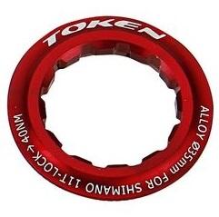 TOKEN(トーケン)TK042S AL LOCKRING レッド 12T シマノ
