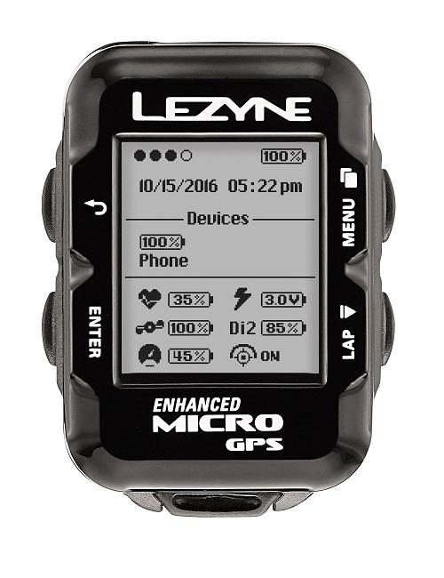 LEZYNE(レザイン)MICRO GPS ブラック