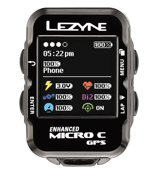 LEZYNE(レザイン)MICRO C GPS ブラック