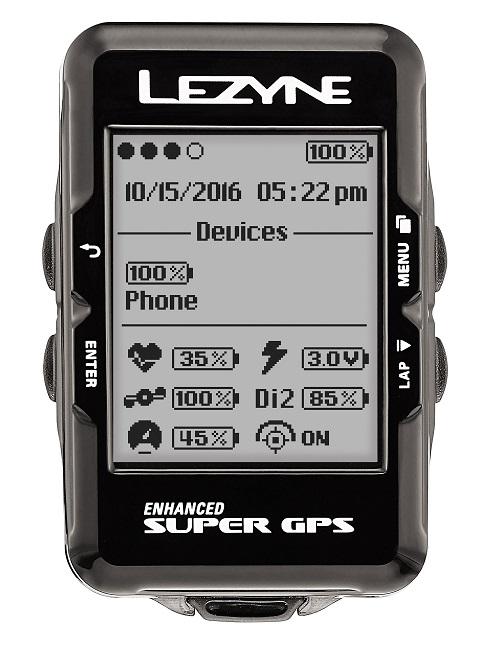 LEZYNE(レザイン)SUPER GPS ブラック