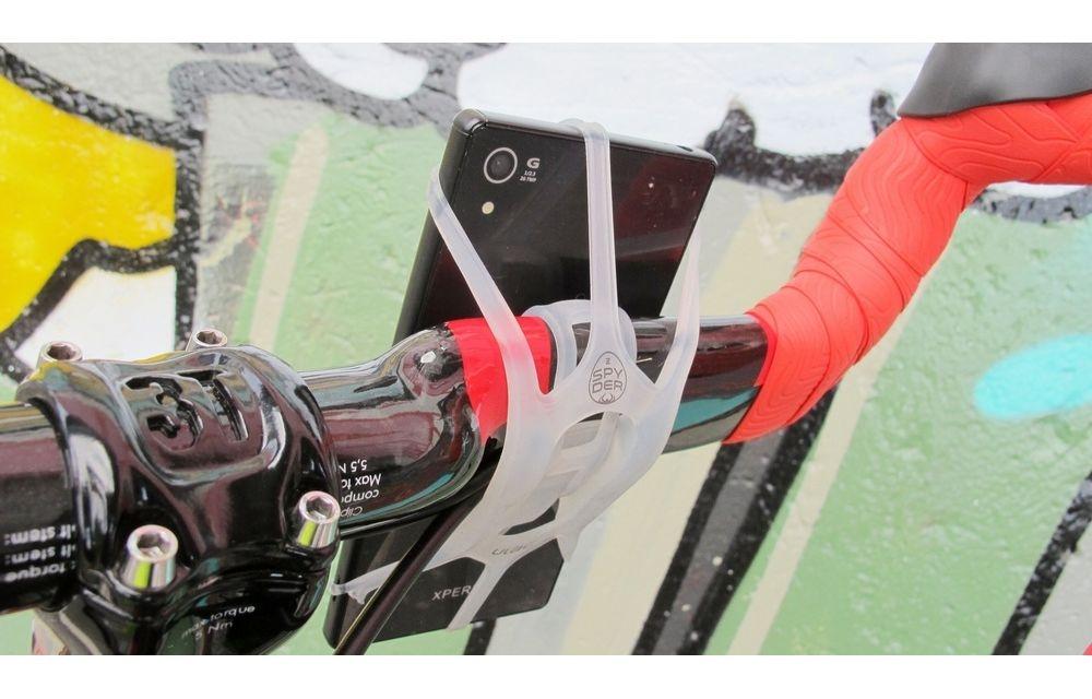 ULAC(ユーラック)SPYDER Z (ハンドルバー縦型取付用) クリア