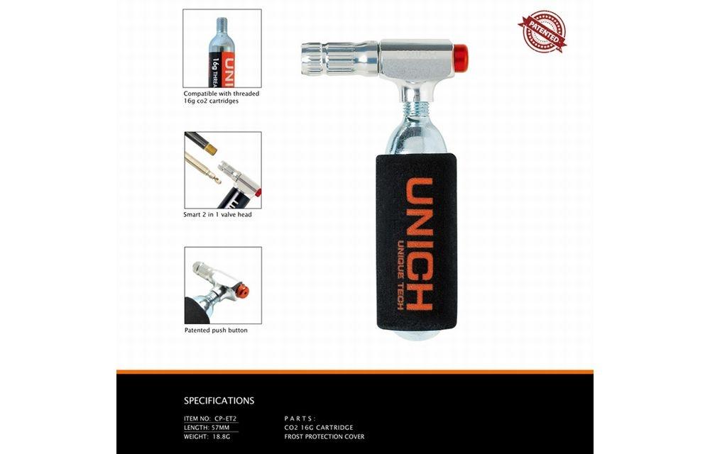 UNICH(ユニック)CO2 インジェクター ELITE シルバー