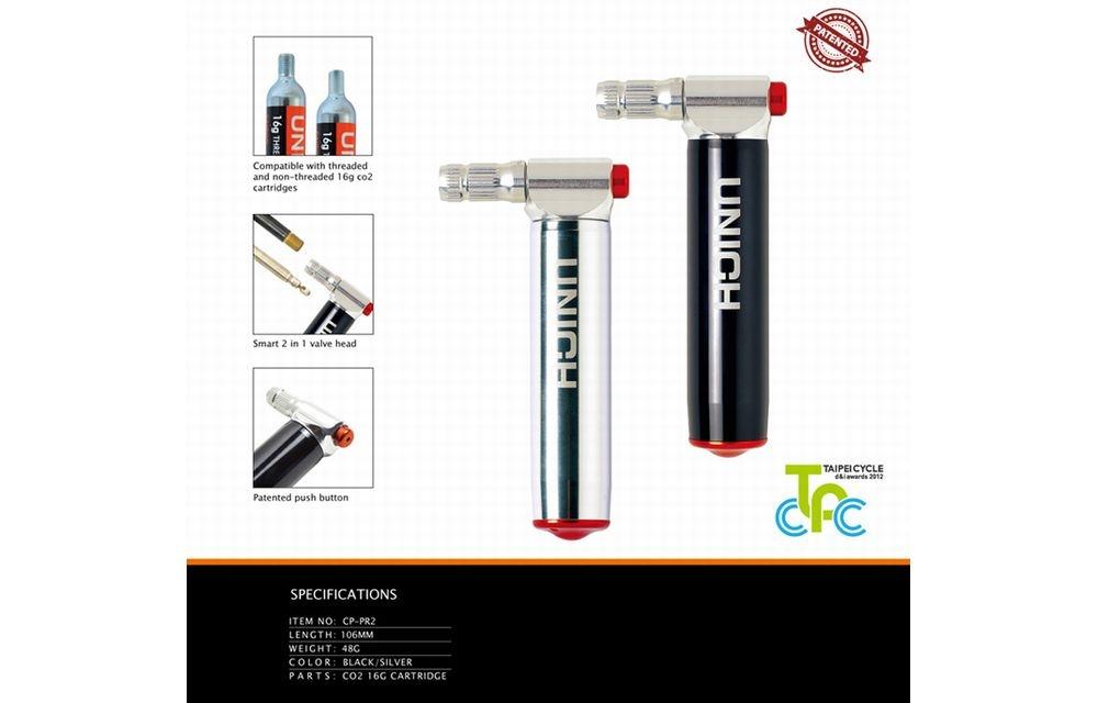 UNICH(ユニック)CO2 インジェクター PRO シルバー