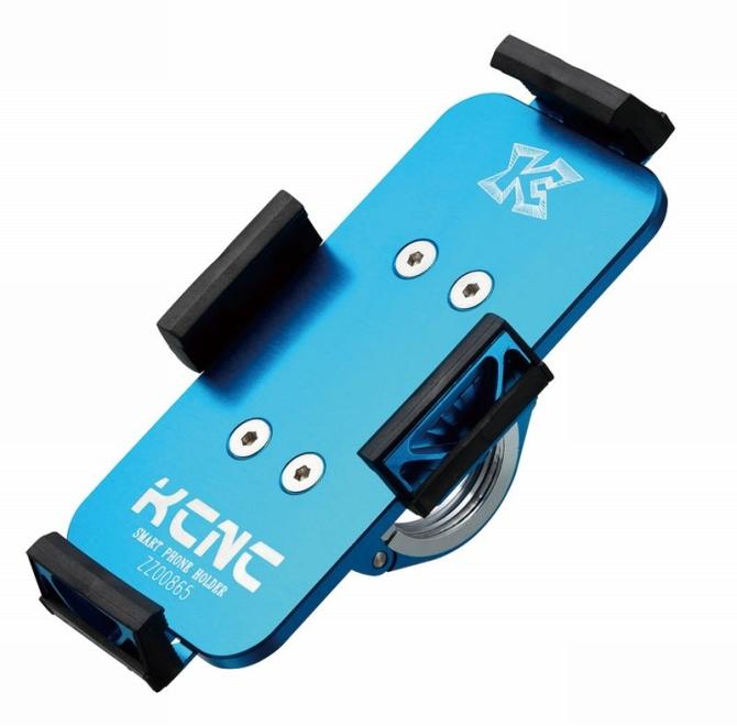 KCNC(ケーシーエヌシー)ブルー H850MM X W50MM スマートフォンホルダー