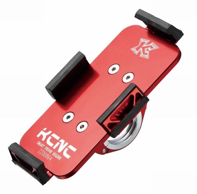 KCNC(ケーシーエヌシー)レッド H850MM X W50MM スマートフォンホルダー