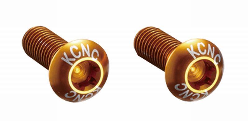 KCNC(ケーシーエヌシー)ゴールド トルクススクリュー (2PCS)