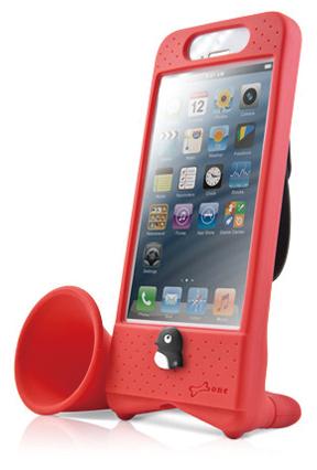 BONE COLLECTION(ボーンコレクション)HONE BIKE5 レッド iPhone5用