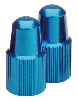 GIZA(ギザ)仏式バルブ用バルブキャップ ブルー