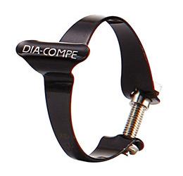 DIA-COMPE ( ダイアコンペ ) ケーシング クリップ ブラック 25.4mm