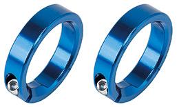 GIZA(ギザ)VLG-874(B) クランプ アルミ ロックリング ブルー