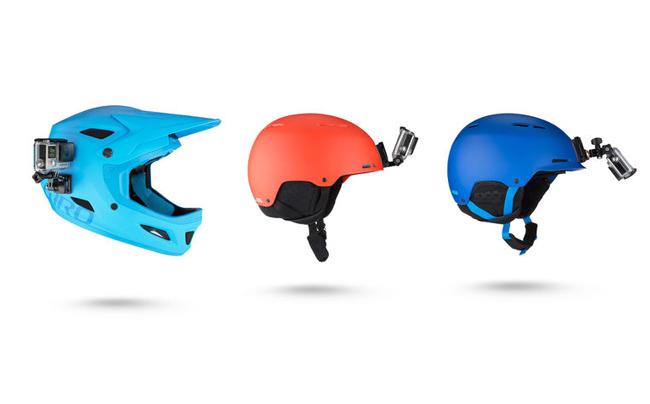GOPRO(ゴープロ)ヘルメットフロント&サイドマウント