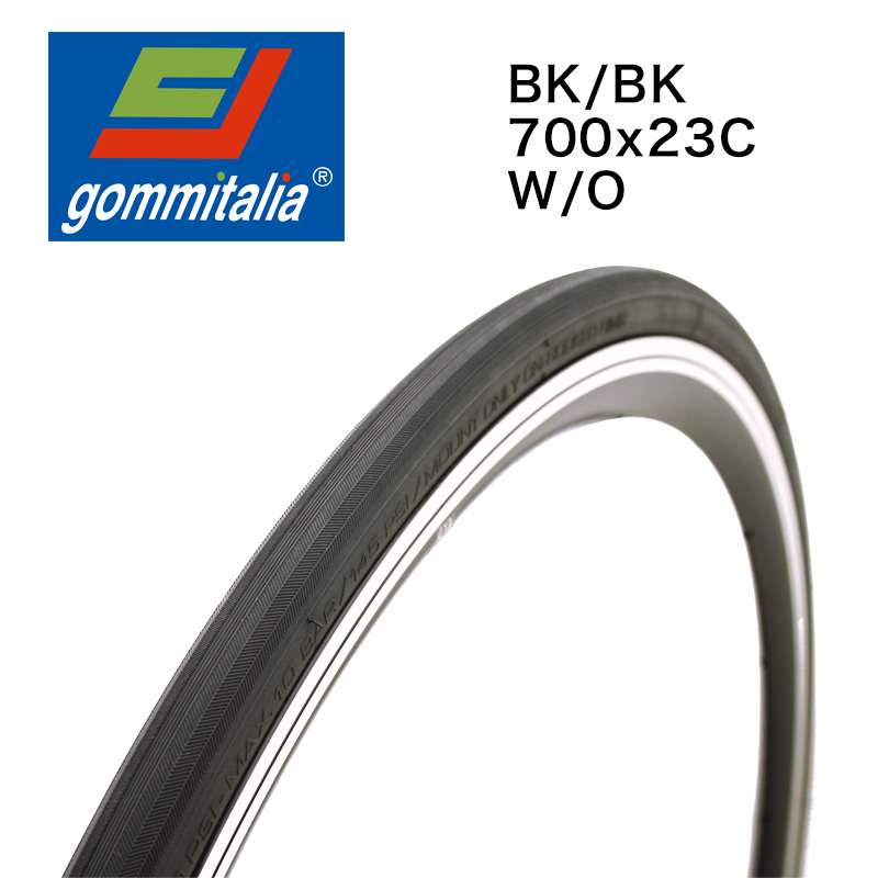 GOMMITALIA(ゴミイタリア)CALYPSO ブラック 700 X 23