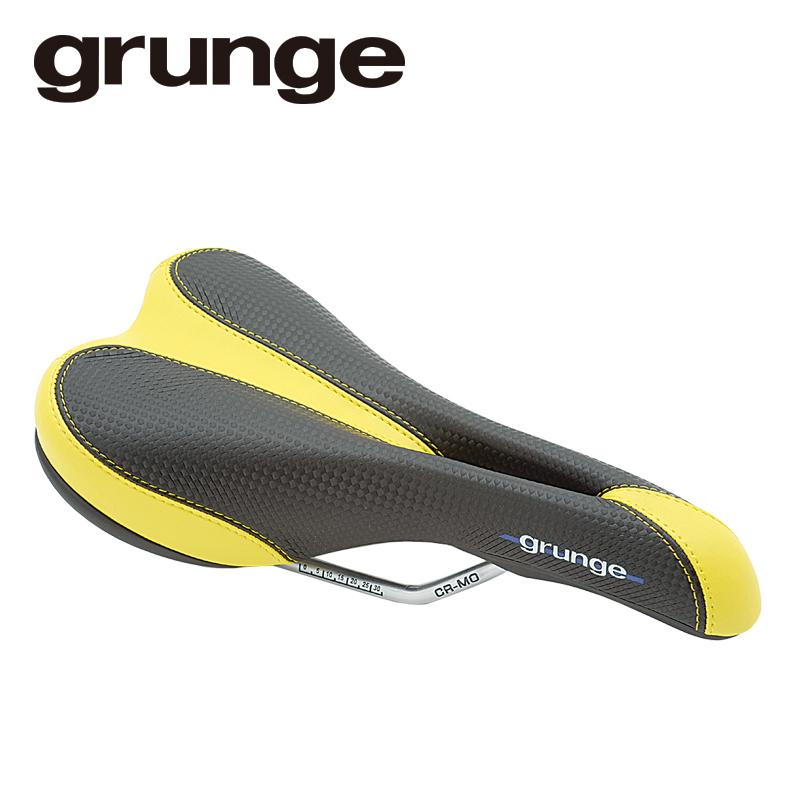 GRUNGE(グランジ)ティガーテールサドル ブラック/イエロー