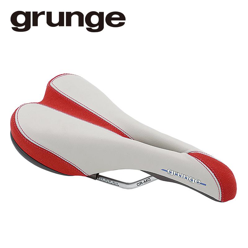 GRUNGE(グランジ)ティガーテールサドル レッド/グレー