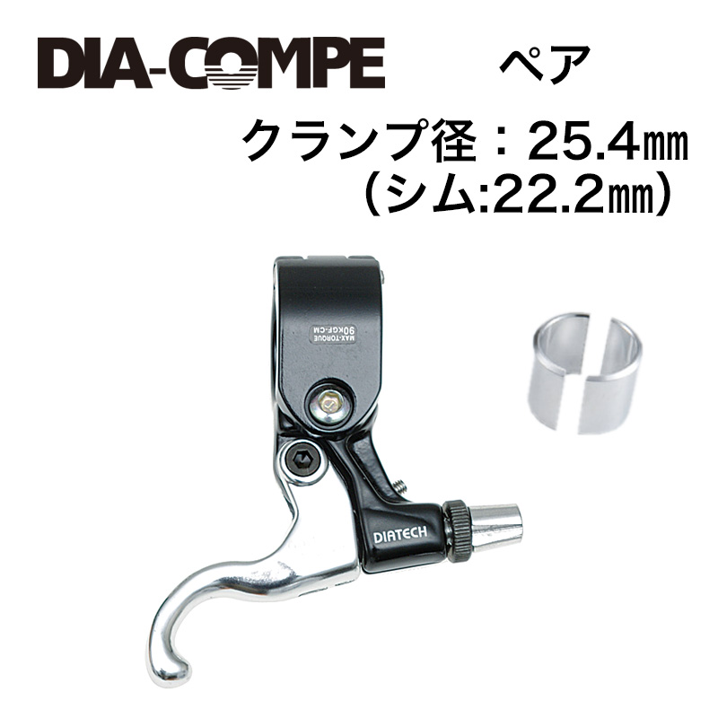 DIA-COMPE(ダイアコンペ)DIA-TECH TECH99DS GOLDFINGER (R/L) ブラック/シルバー