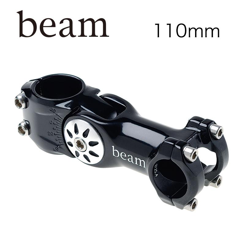 BEAM(ビーム)XOM アジャストステム ブラック 25.4 X 110mm