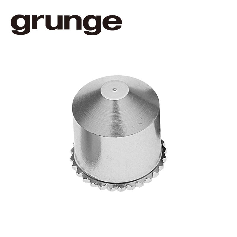 GRUNGE(グランジ)アルミシュレーダーバルブキャップ シルバー