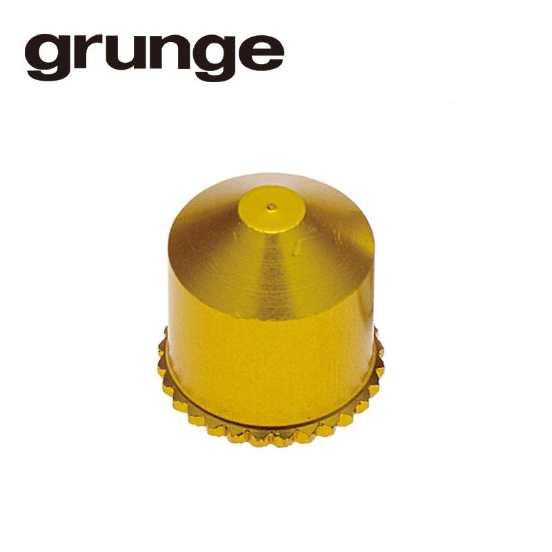 GRUNGE(グランジ)アルミシュレーダーバルブキャップ ゴールド