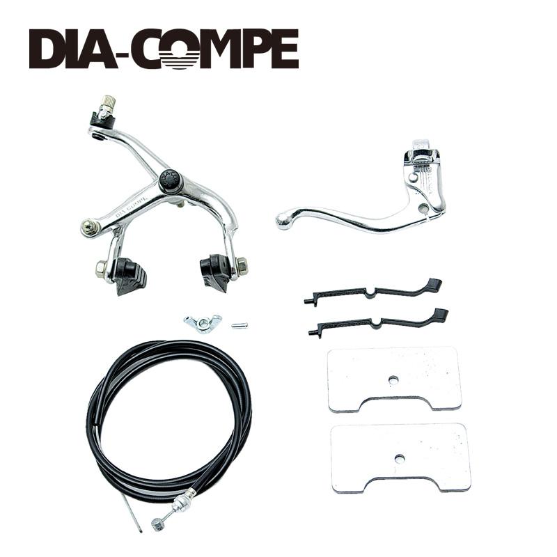 DIA-COMPE ブレーキセット 505PISTO リア レバー付き
