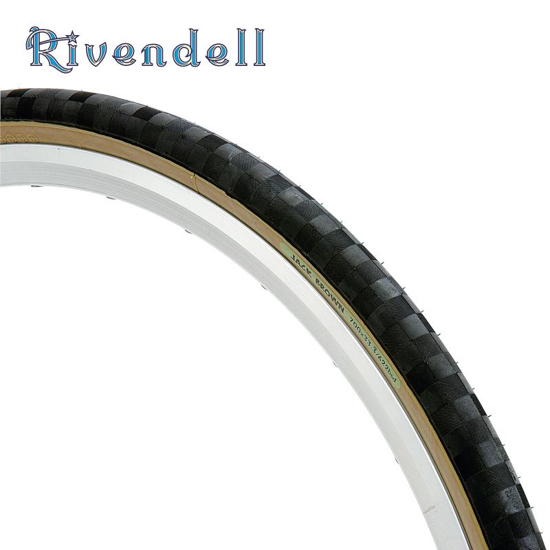 RIVENDELL(リーベンデール)タイヤ RIVジャックブラウン グリーン 700X33.3