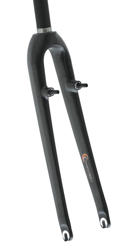 ONE BY ESU(ワンバイエス)フォーク OBS-C11 クロスモノコック ブラック オフセット45mm