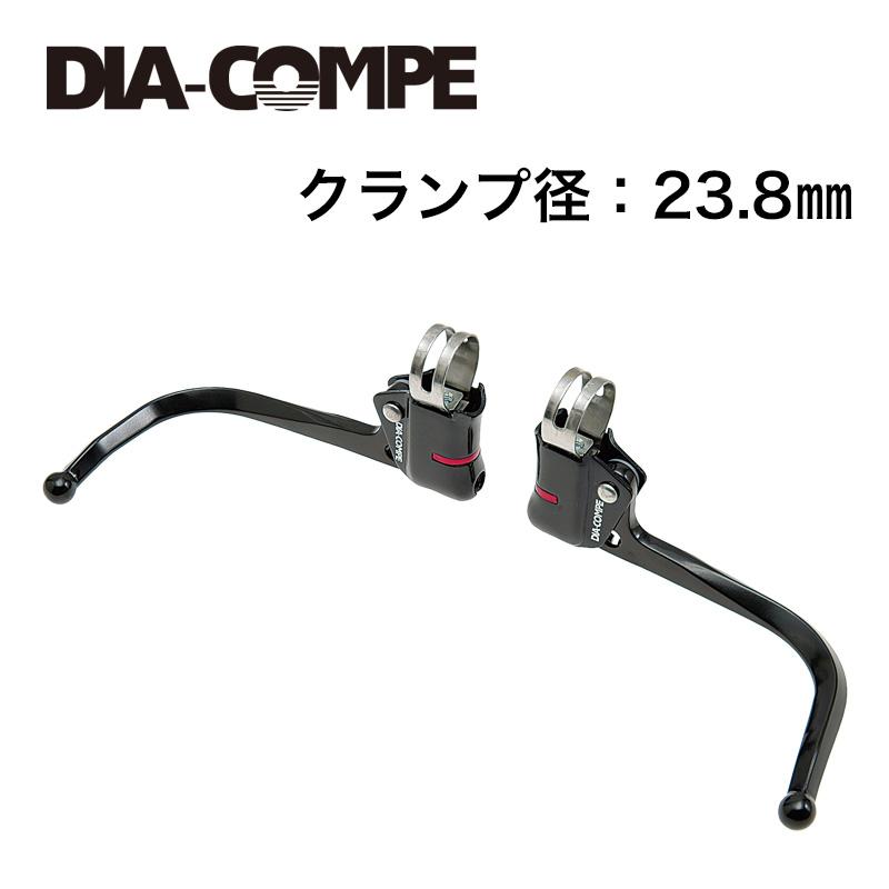 DIA-COMPE(ダイアコンペ)DC139 ギドネットレバー ブラック 23.8mm