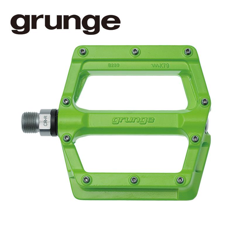 GRUNGE(グランジ)スクイントペダル アルミ グリーン