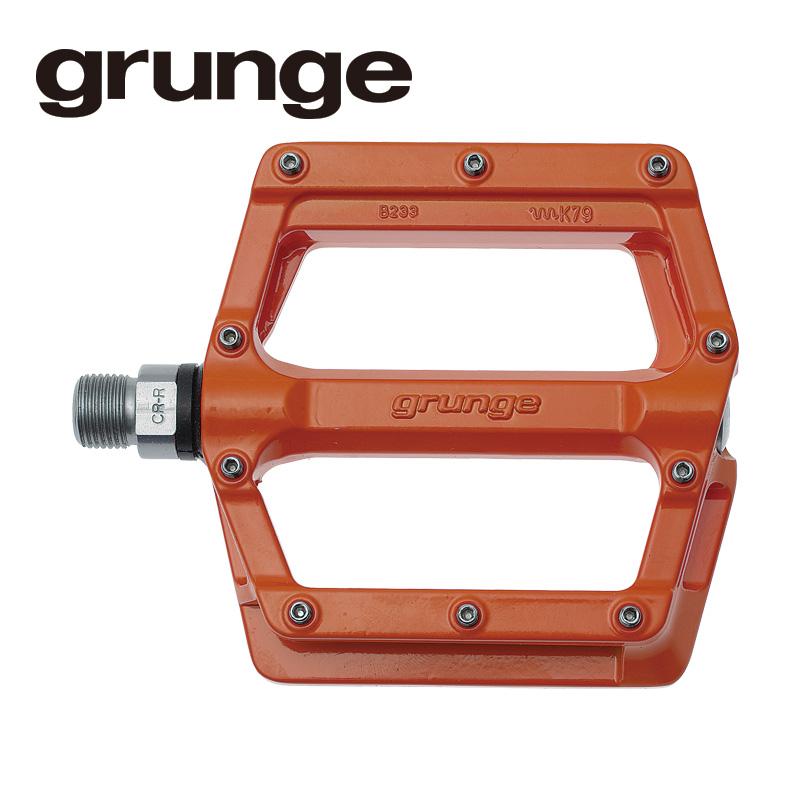 GRUNGE(グランジ)スクイントペダル アルミ オレンジ