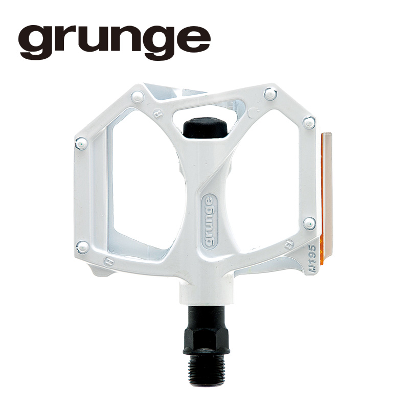 GRUNGE(グランジ)G04 PDL フラットモットペダル ホワイト