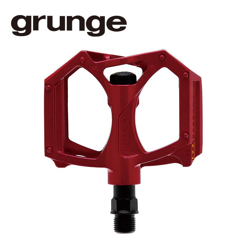 GRUNGE(グランジ)G04 PDL フラットモットペダル レッド