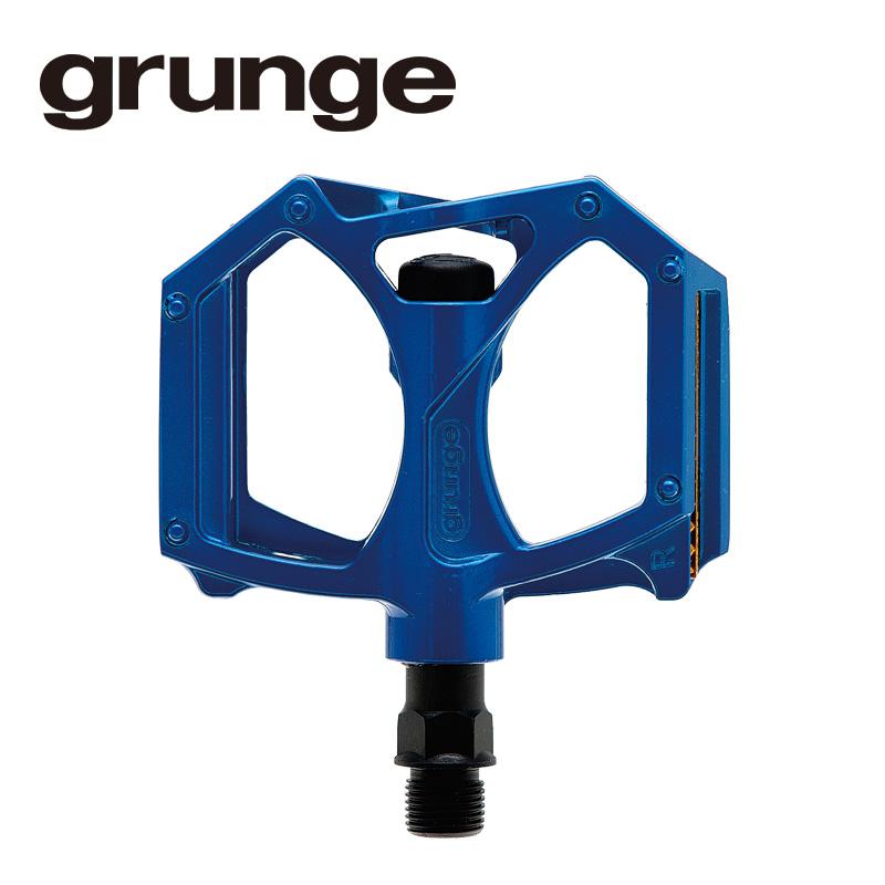 GRUNGE(グランジ)G04 PDL フラットモットペダル ブルー