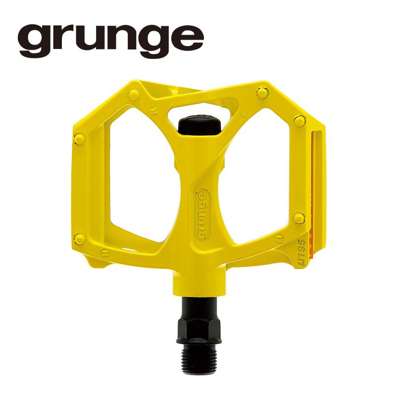 GRUNGE(グランジ)G04 PDL フラットモットペダル イエロー