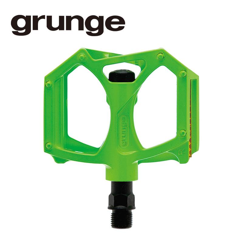 GRUNGE(グランジ)G04 PDL フラットモットペダル アップルグリーン