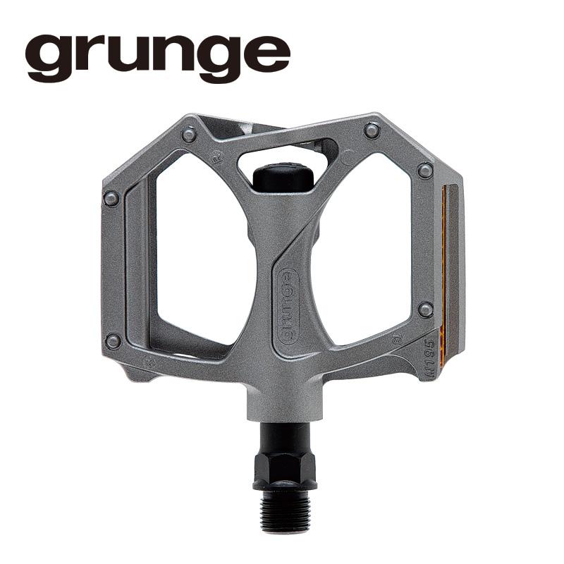 GRUNGE(グランジ)G04 PDL フラットモットペダル グレー