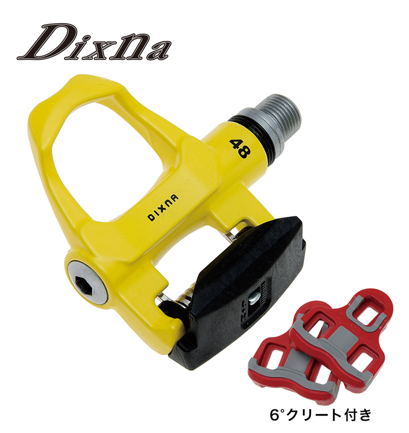 dixna(ディズナ)ファスト48ペダル イエロー