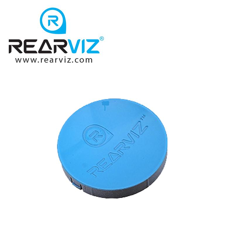 REARVIZ(リアビズ)アームミラー ディスク ブルー