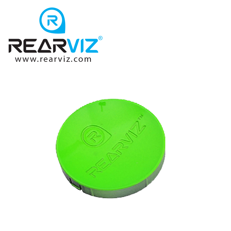 REARVIZ(リアビズ)アームミラー ディスク グリーン
