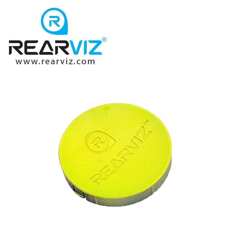 REARVIZ(リアビズ)アームミラー ディスク イエロー