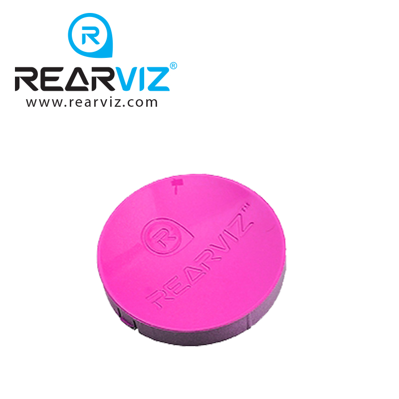 REARVIZ(リアビズ)アームミラー ディスク ピンク