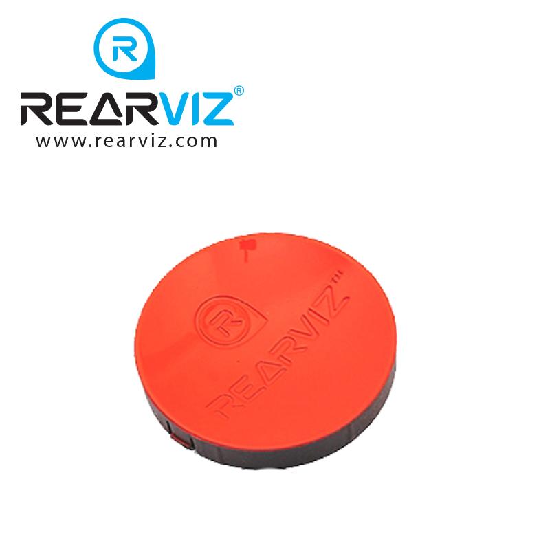 REARVIZ(リアビズ)アームミラー ディスク レッド