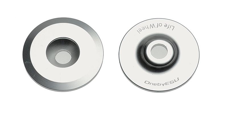 ONE BY ESU(ワンバイエス)ヨゼフトップキャップ シルバー 25.4mm