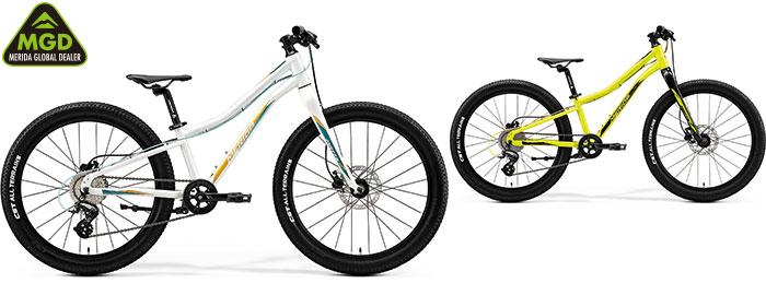 MERIDA ( メリダ ) キッズバイク MATTS J.24+ ( マッツ J.24+ ) グロッシー ホワイト / ( ティール ゴールド ) | EW41 28