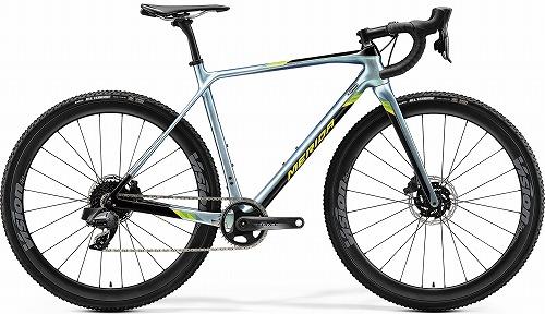 MERIDA ( メリダ ) シクロクロスバイク MISSION CX フォース エディション ( ミッション CX フォース エディション ) グロッシー スパークリング ブルー / ブラック ( ライム )   EBK2 47