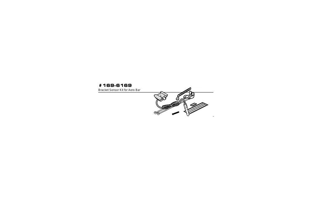 CAT-EYE(キャットアイ)169-6169 MT200/ST250ステム用ブラケットキット
