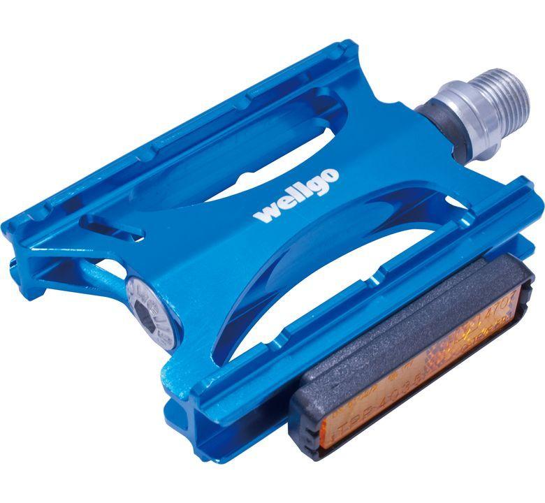 WELLGO ( ウェルゴ ) LU-C16 ロードペダル ブルー 9/16インチ