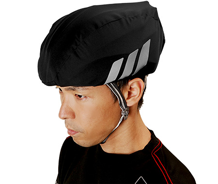 OGK KABUTO(オージーケーカブト) ヘルメットレインカバー ブラック F